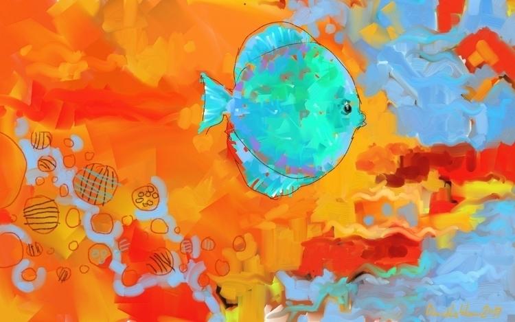 Abstract created artrage mac wa - lobber66 | ello