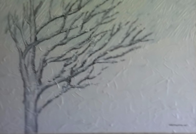 Winter Snow painting art elloar - pupofred | ello