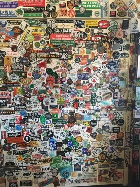 sticker collage wall cluster de - fidelcastr8 | ello