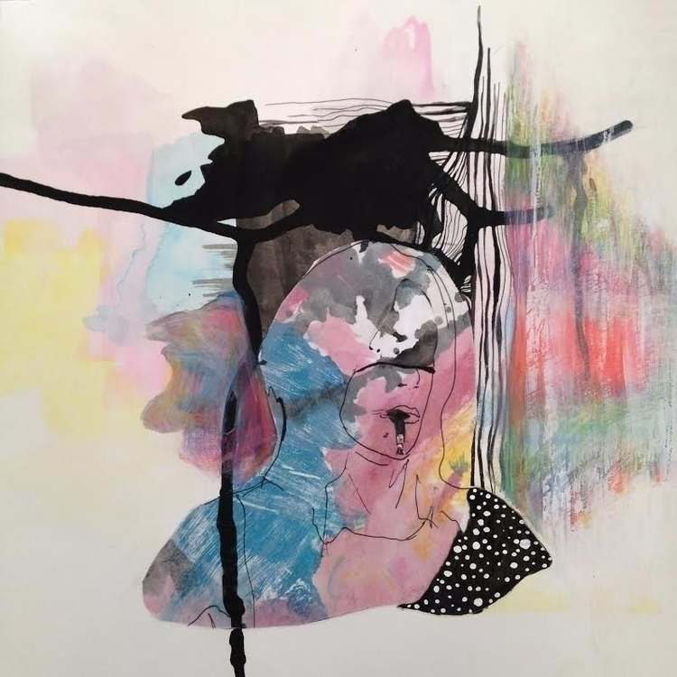 Mixedmedia Collage Painting - mariaparedes   ello