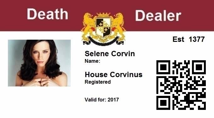 Proves real Vampire ID - selenecorvin | ello
