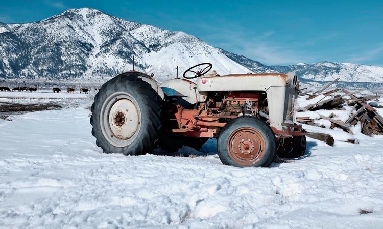 Tractor, Galeppi ranch, Carson  - brickie | ello
