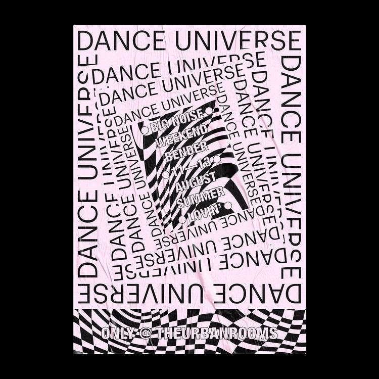 Rave Poster V3 poster design el - sam_hall | ello