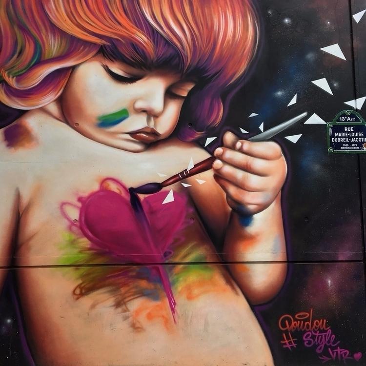 Heart street streetart streetar - philippefabry | ello