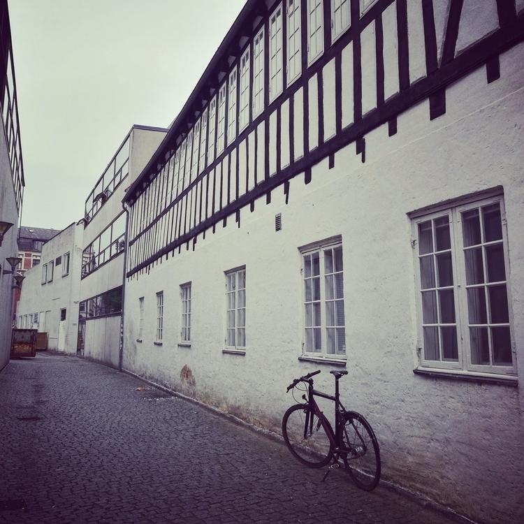 bicycle leans Danish house cobb - estelleclarke   ello