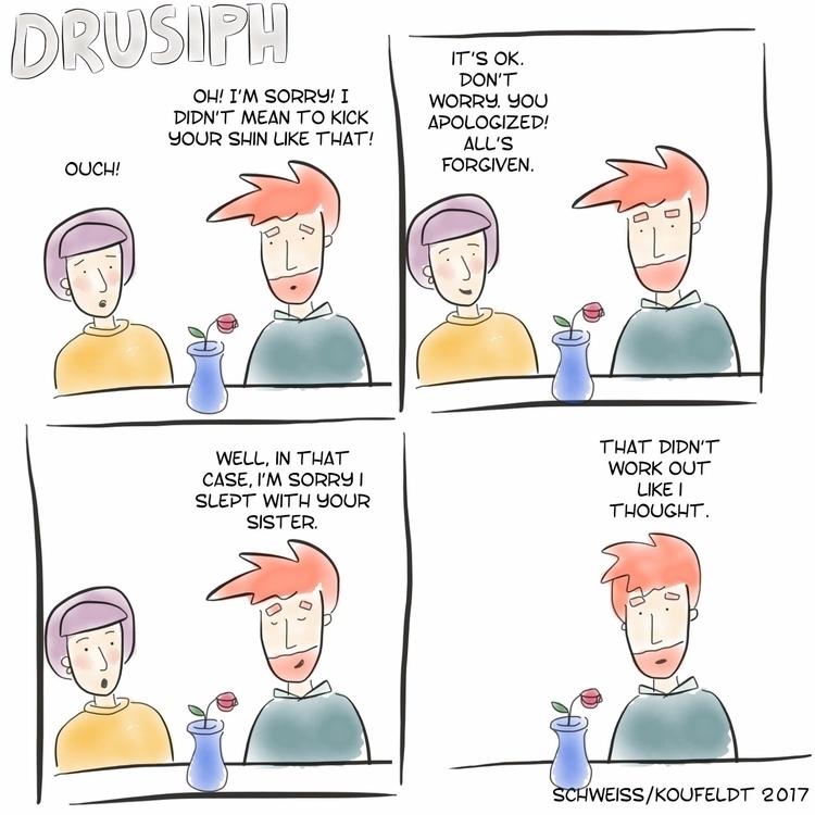 monday drusiph comic comicstrip - drusiph | ello