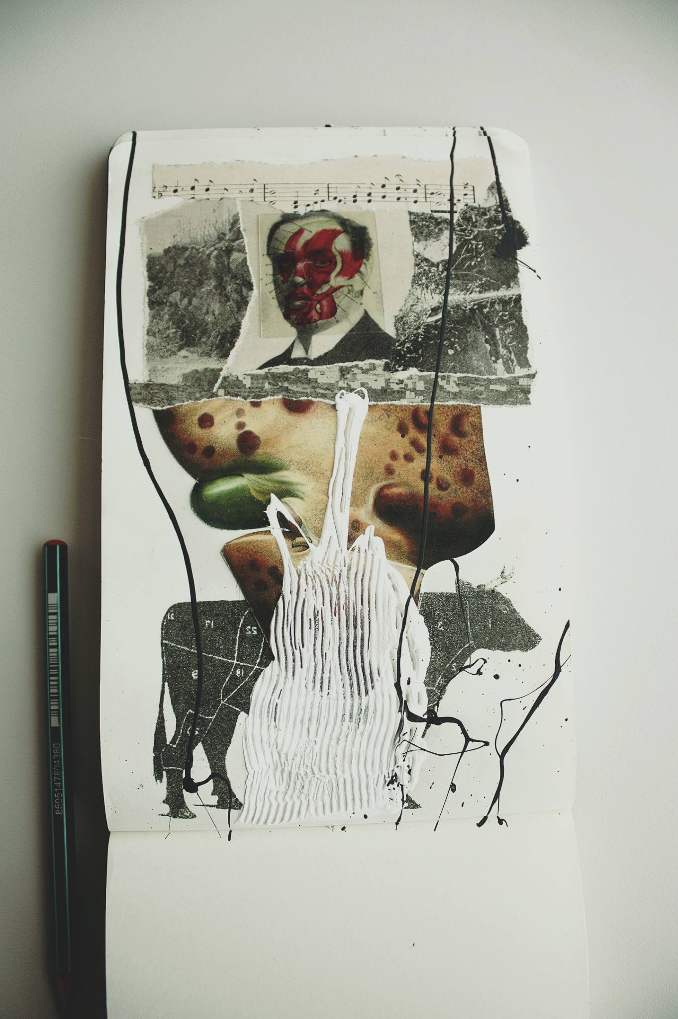 Collage & Moleskine Alvaro  - sanchezisdead | ello