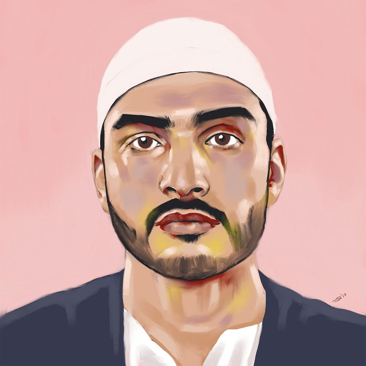 123RF Muslim Man Digital, 2017. - notbadart | ello