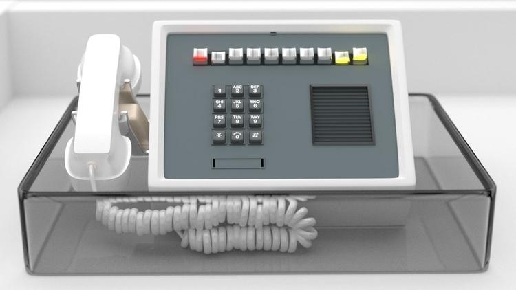 Telephone 3d blender3d cgi rend - fabulousrice | ello