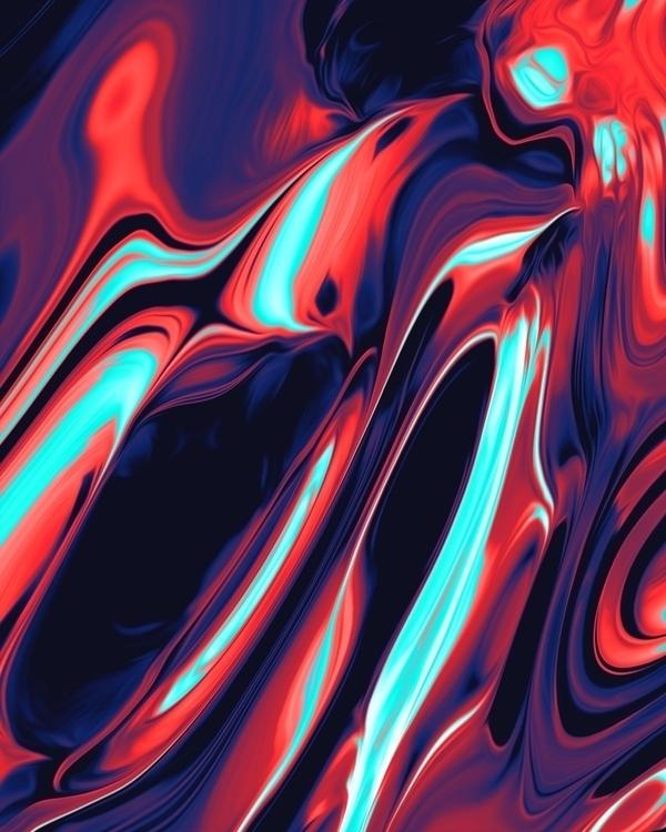 Tan digitalart abstract artdail - dorianlegret | ello