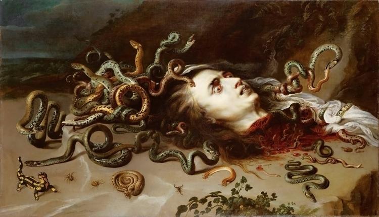 Medusa Peter Paul Rubens. Art.  - candydhami | ello