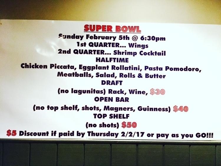Super Bowl Pub Grill Queens Vil - erikaaaomg | ello