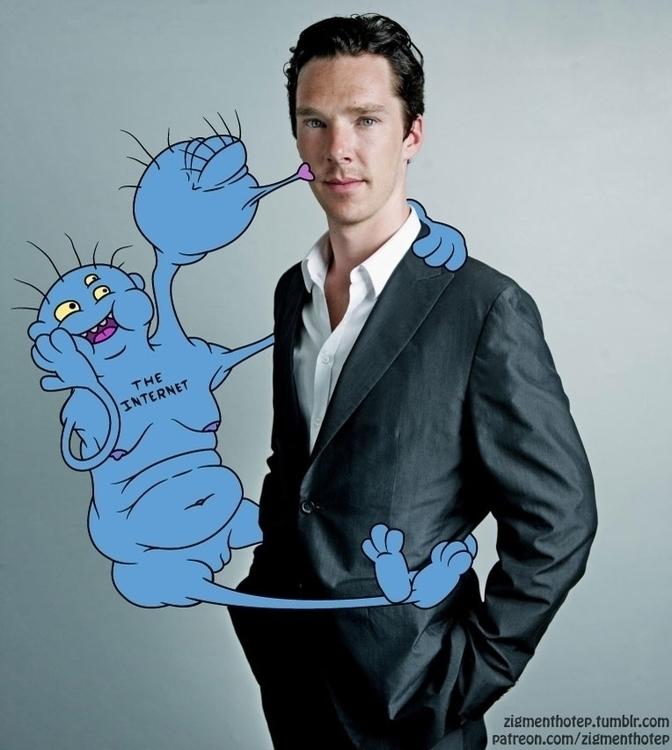 Internet smooch Benedict Cumber - zigmund | ello