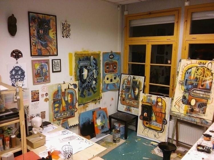 studio talltreesofparis artist  - helliongallery | ello
