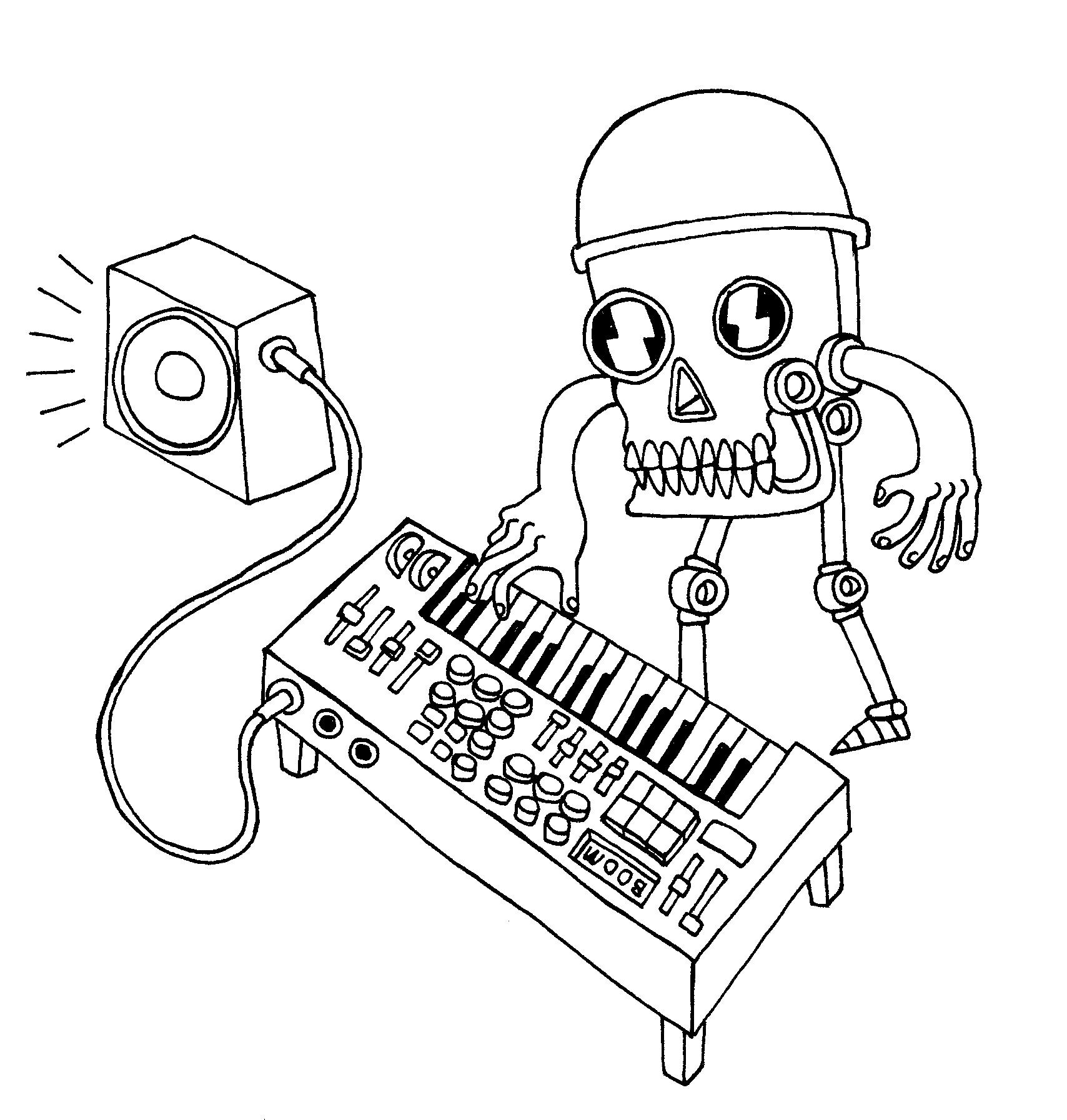 Machine music! BluntPacers robo - bluntpacers | ello