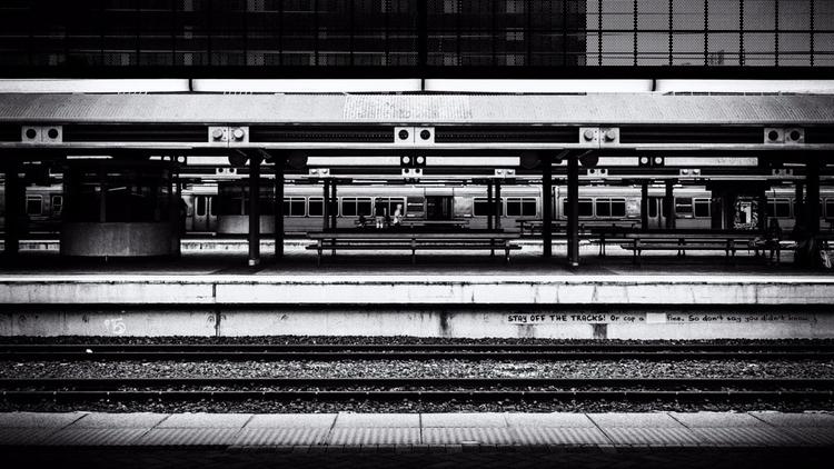 Stay tracks! blackandwhitephoto - daphot | ello