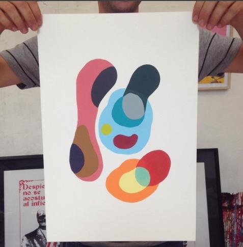 serigraphy 50x35 cm. 15 copies  - giorggastudio | ello
