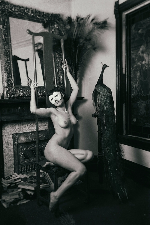 Masked Nude II Ph: Adrian Holme - dorrie   ello
