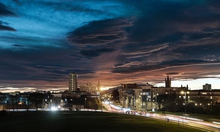 week sunsets & Spectra Fest - andrewbrooks | ello