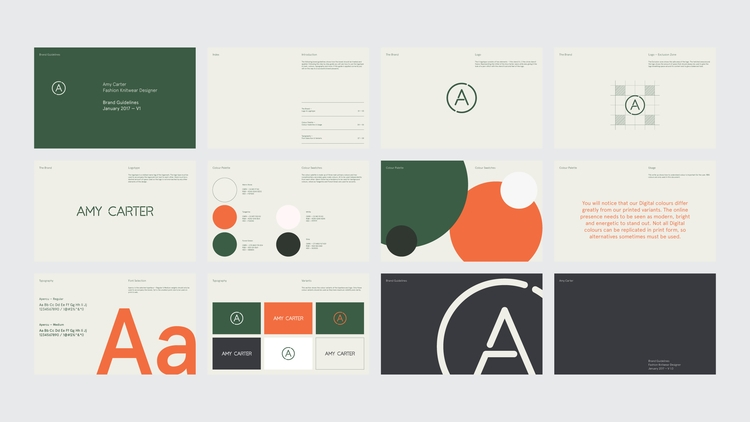 Brand Guidelines freelance proj - sam_hall | ello
