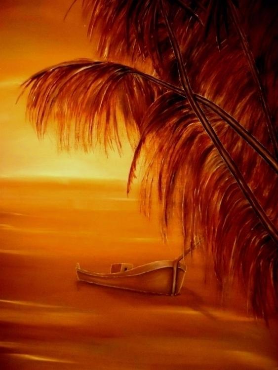 NewOnEllo Art OilPainting Boat  - fayeanastasopoulou | ello