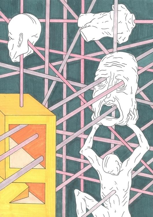 illustration art - bryceaspinall | ello