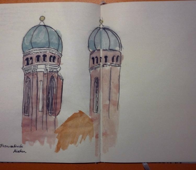 Frauenkirche, München Negyedik  - pimpernel_ | ello