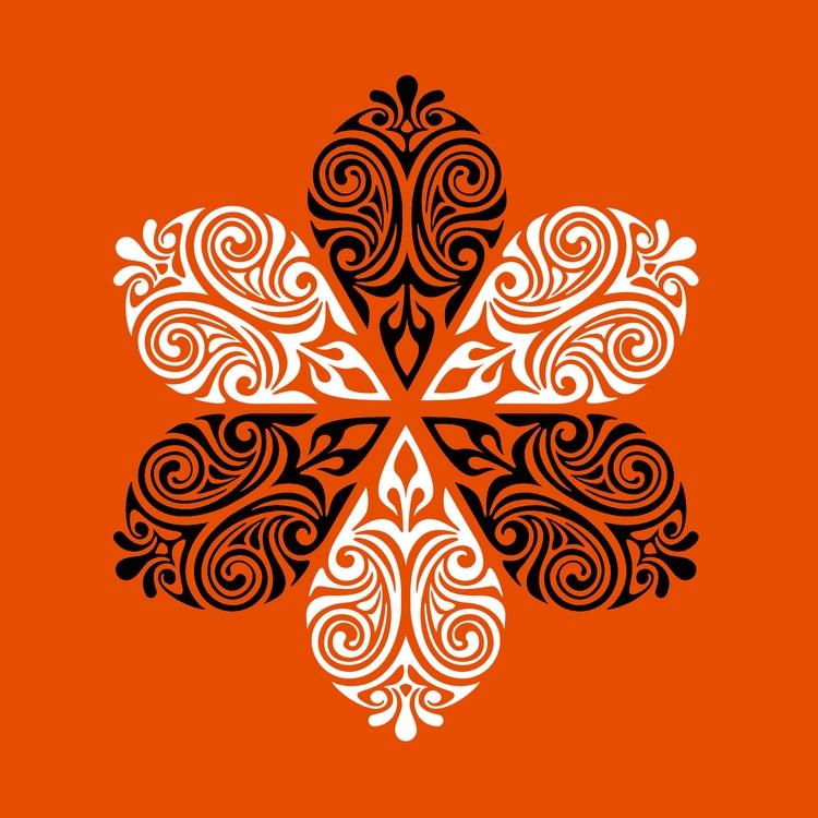 Nº 19. snowflake art illustrati - csilverman | ello