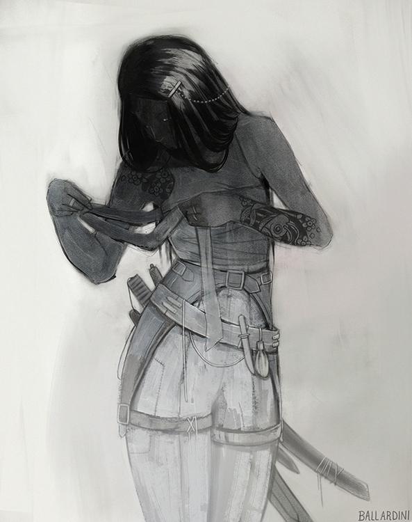 illustration sketchbook charact - lupetto | ello