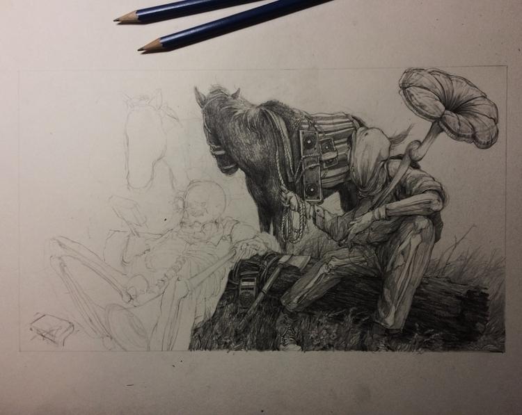 (sketches) - heypatyeah | ello