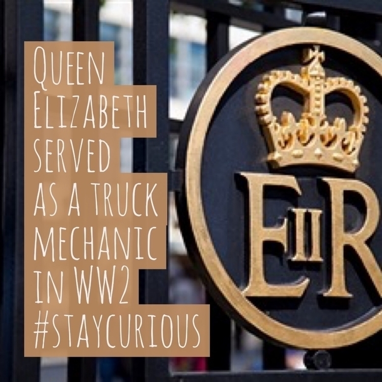 Queen Elizabeth served truck me - curionic | ello