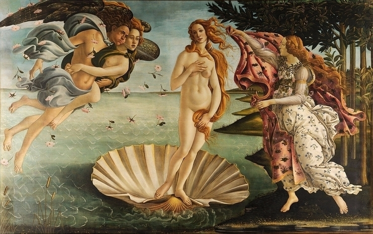 Art Sandro Botticelli. Portrait - candydhami | ello