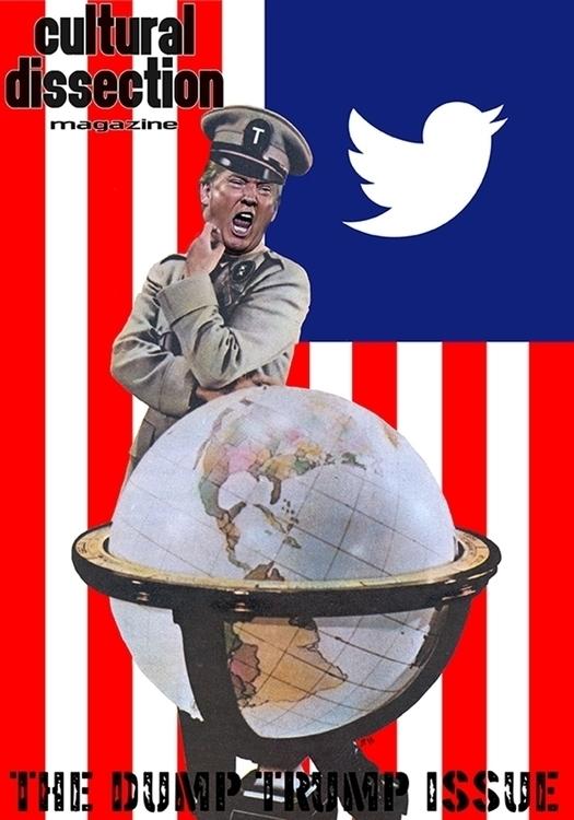 Front cover Dump Trump speial i - artpirate | ello