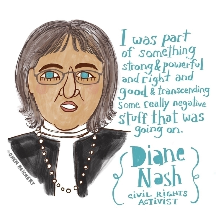 week living legend Diane Nash s - chenreichert | ello