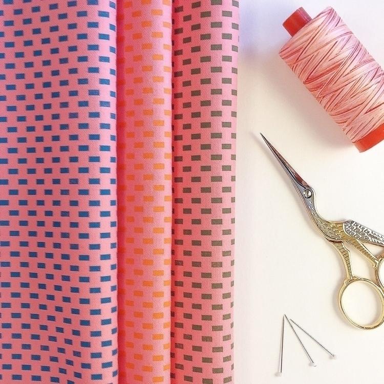 Handprint fabric bundle, craft  - skinnymalinkyquilts | ello