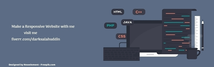 responsive website bootstrap wo - darksalahuddin | ello