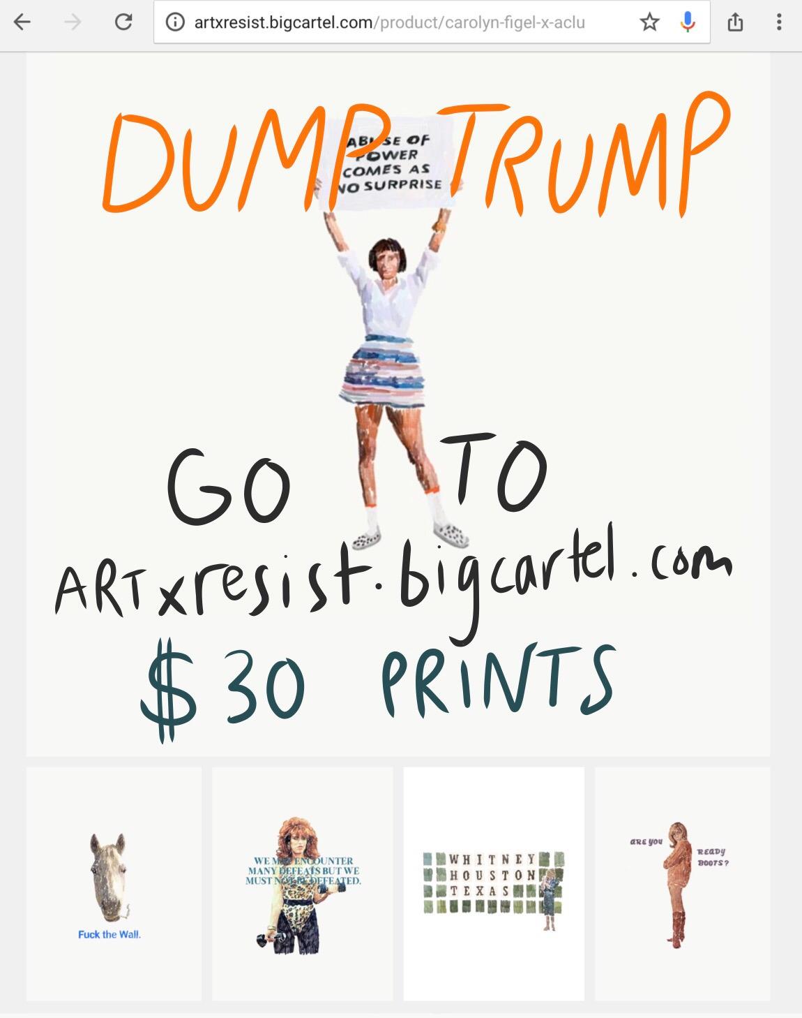 Buy print support good $30 notm - carolynfigel   ello