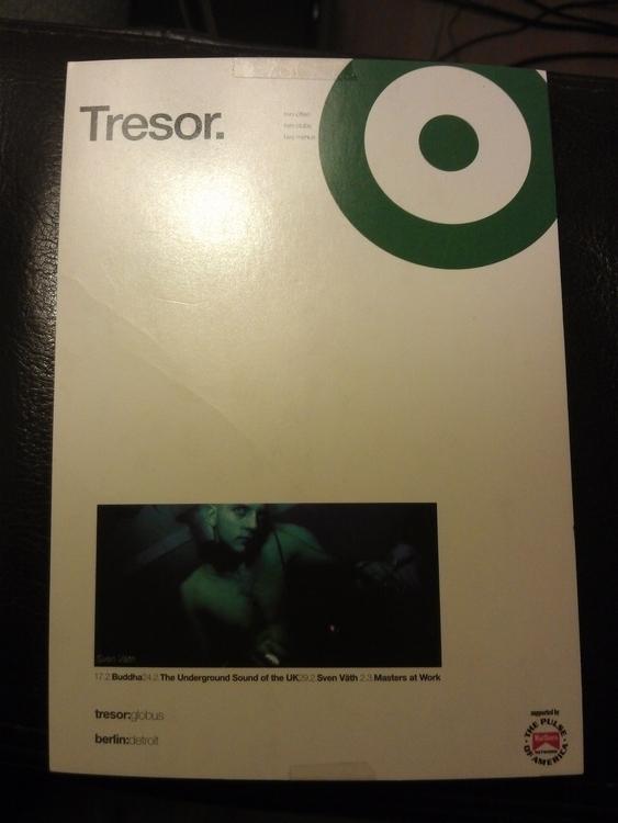 flyer Tresor Berlin. * Year: 19 - nerd2000 | ello