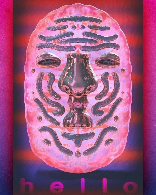 3D digitalart zbrush totem mask - frank_yunker | ello