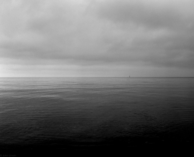 Calm - Lake Michigan autumn day - junwin | ello
