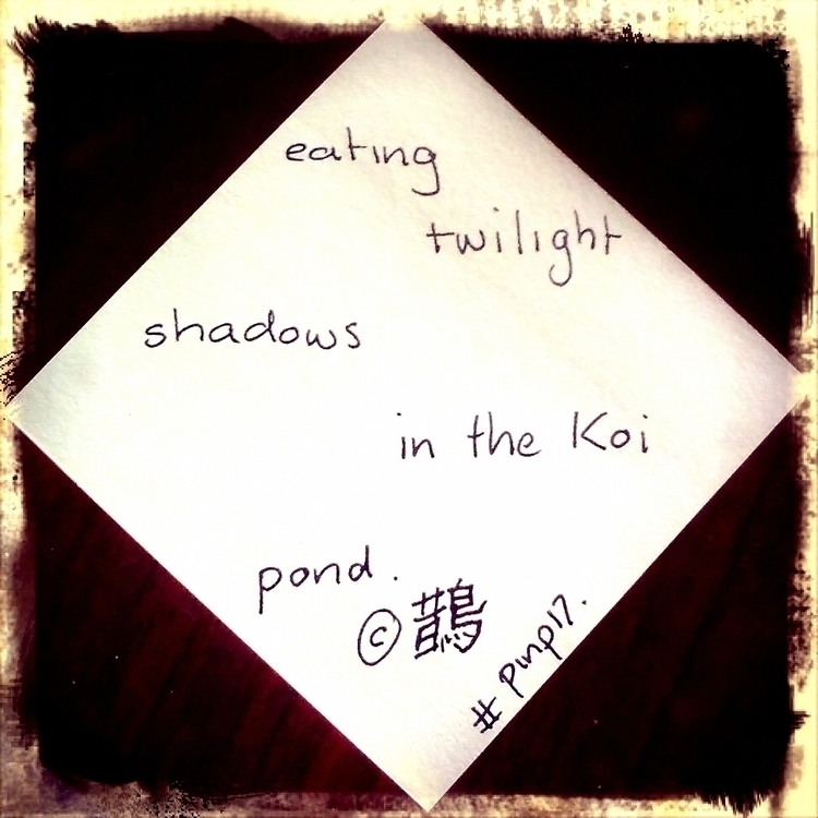 eating twilight shadows Koi pon - sbwright | ello