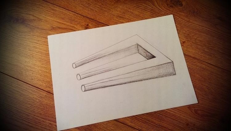 Cleoart drawing figure trident  - cleoart | ello