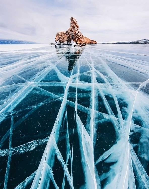 Frozen Baikal: Oldest Deepest L - photogrist | ello