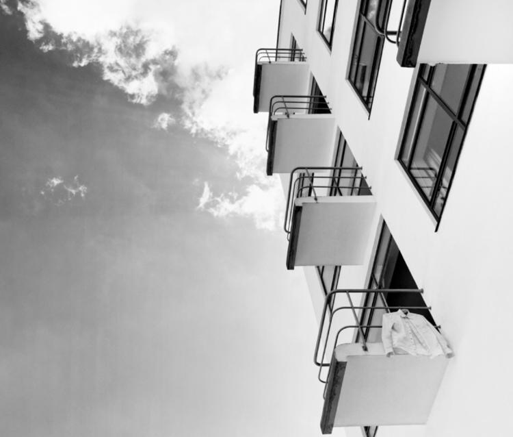 Balconies Bauhaus Dessau German - bauhaus-movement | ello