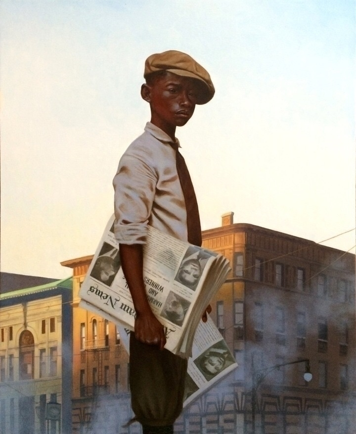 Kadir Nelson Morning Post, 2014 - blackartmatters | ello