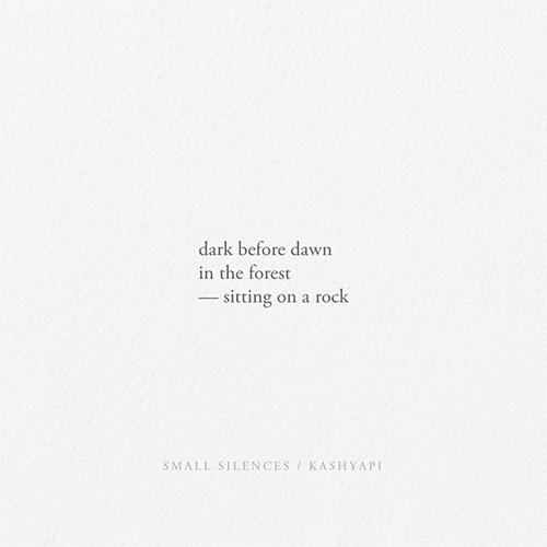 Dark dawn / dark forest — sitti - kashyapi | ello