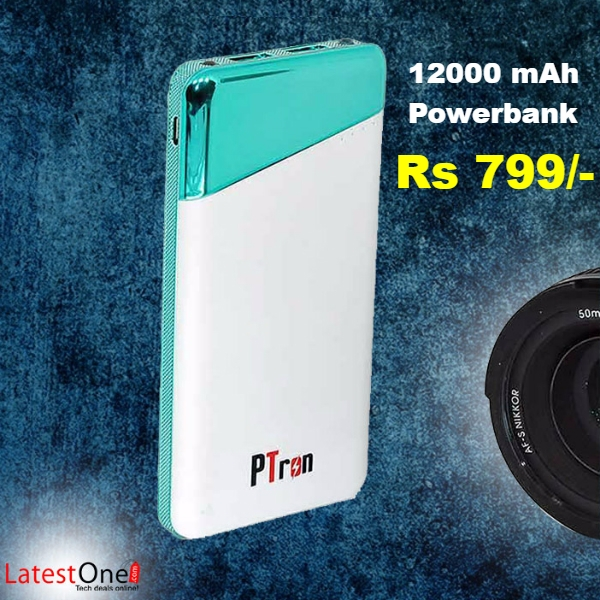 Amazing PowerBanks of 12000mAh now at Just Rs 799/-