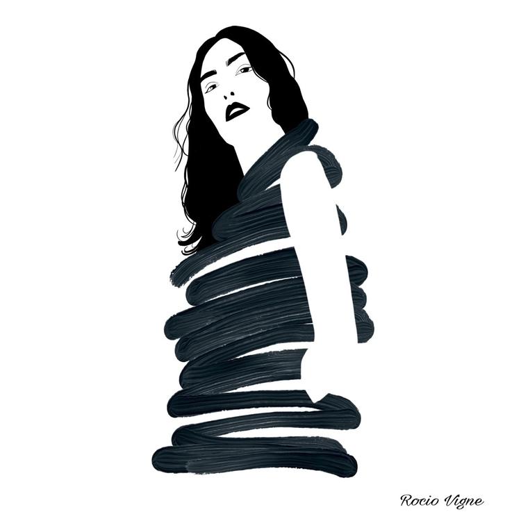 Work progress Rocio Vigne art a - rociovigne | ello