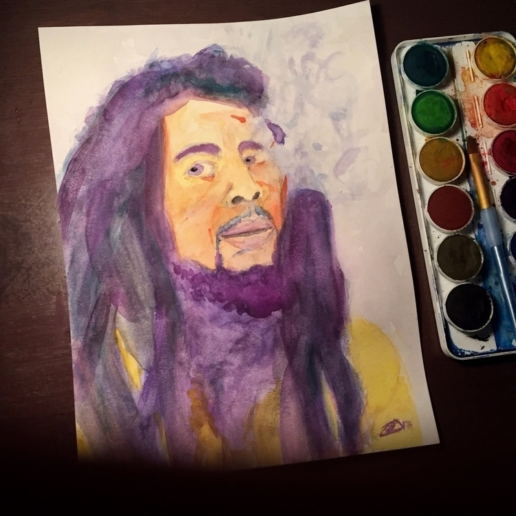 Happy Birthday, Bob Marley! wat - jeffwalters | ello