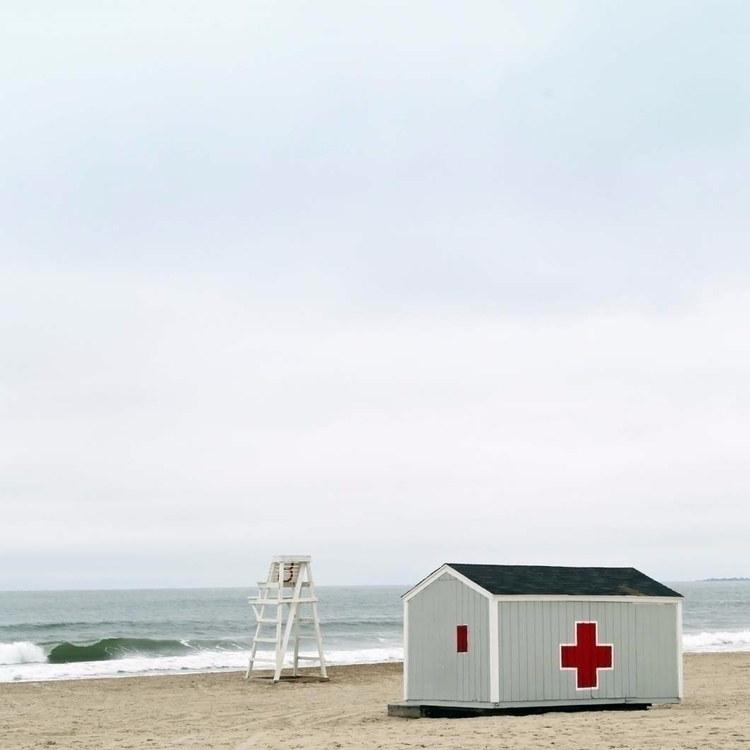 work minimal seascape lifeguard - brookeryan | ello